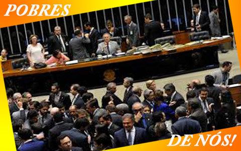 CONGRESSO DÁ VÁRIOS PASSOS PARA TRÁS - Por  Sérgio Pires