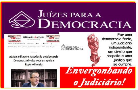 Comunistas tentam manchar toga de magistrados - Por Sérgio Pires