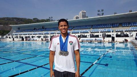 Rondoniense é ouro no Campeonato de Inverno de Natação do Rio de Janeiro