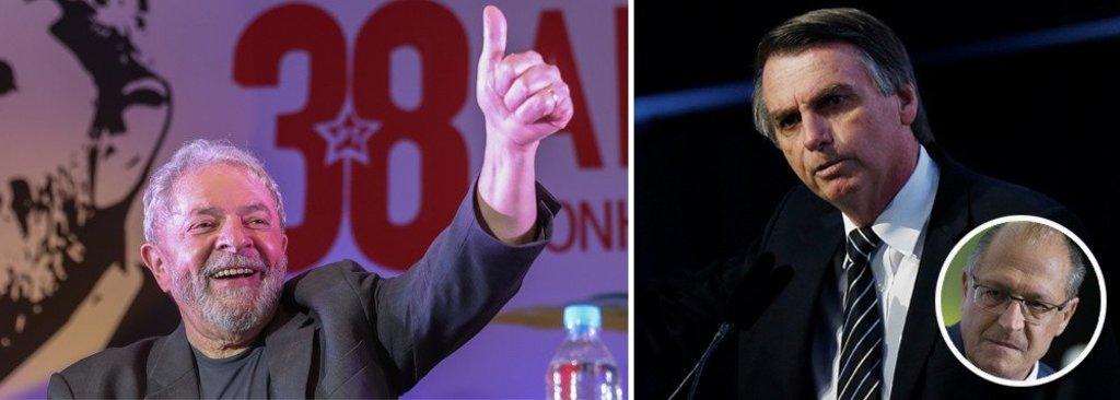 Paraná Pesquisas: Lula e Bolsonaro lideram em SP; Alckmin em 3º  - Gente de Opinião