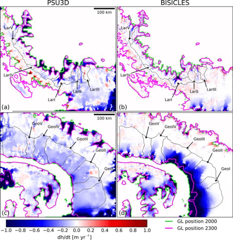 Novo estudo indica o aumento do nível do mar após o colapso das plataformas de gelo da Antártida - Gente de Opinião