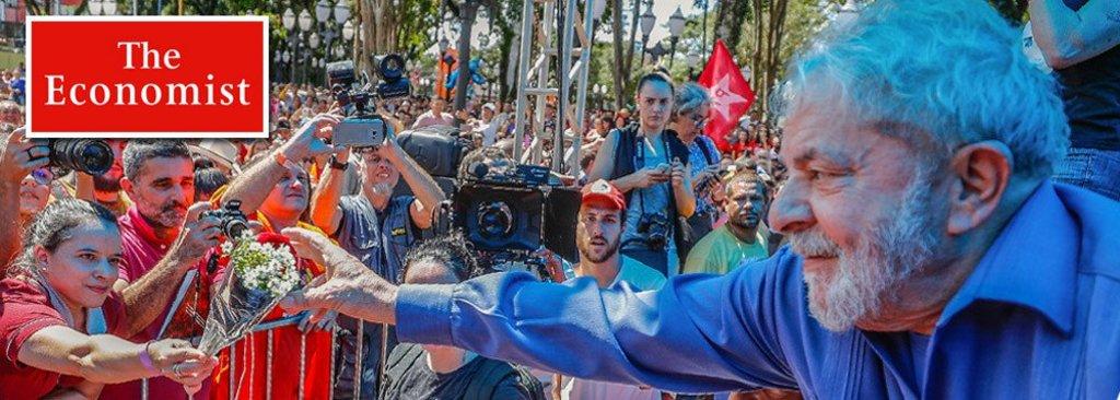The Economist: brasileiros considerarão eleição ilegítima se Lula não concorrer - Gente de Opinião