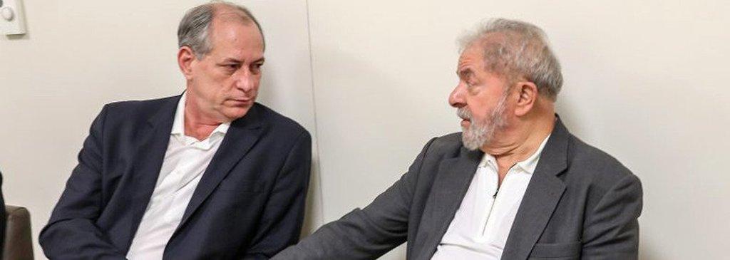 Sem centrão, Ciro se volta ao PT e diz que Brasil não terá paz com Lula preso  - Gente de Opinião