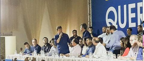 Pré-convenção do PSDB, DEM e PSD reúne milhares em Ji-Paraná
