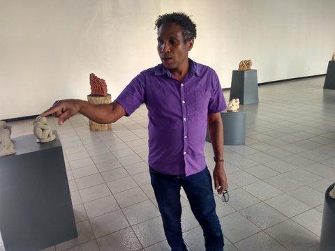 Paulo Pires - Exposição Pensamentos de Pedra na Ivan Marrocos - Por Zekatraca