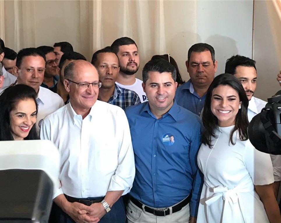 Em evento com Alckmin, Mariana Carvalho anuncia que é pré – candidata a deputada federal - Gente de Opinião