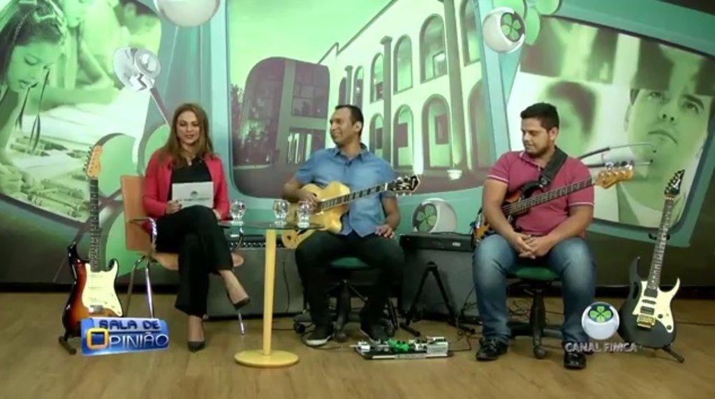Professor de Música no Sala de Opinião (VÍDEO) - Gente de Opinião