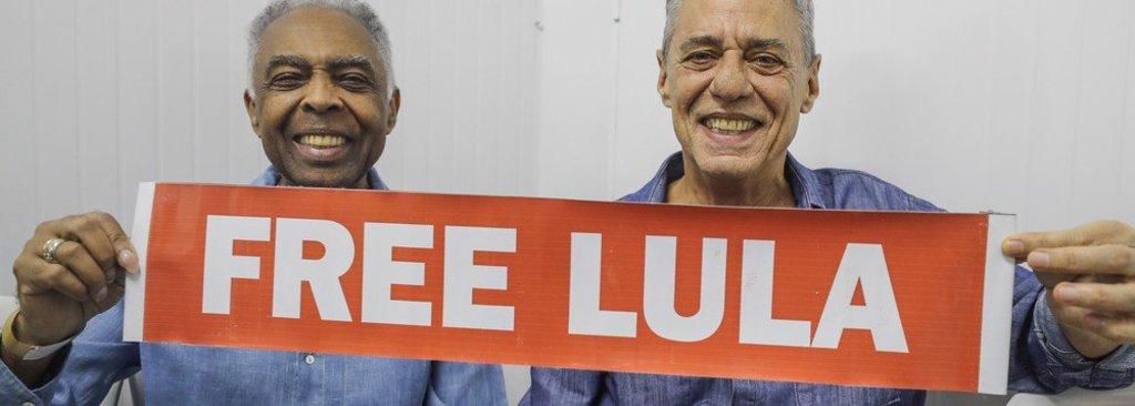 Chico, Gil, o Brasil e o mundo querem Lula Livre  - Gente de Opinião