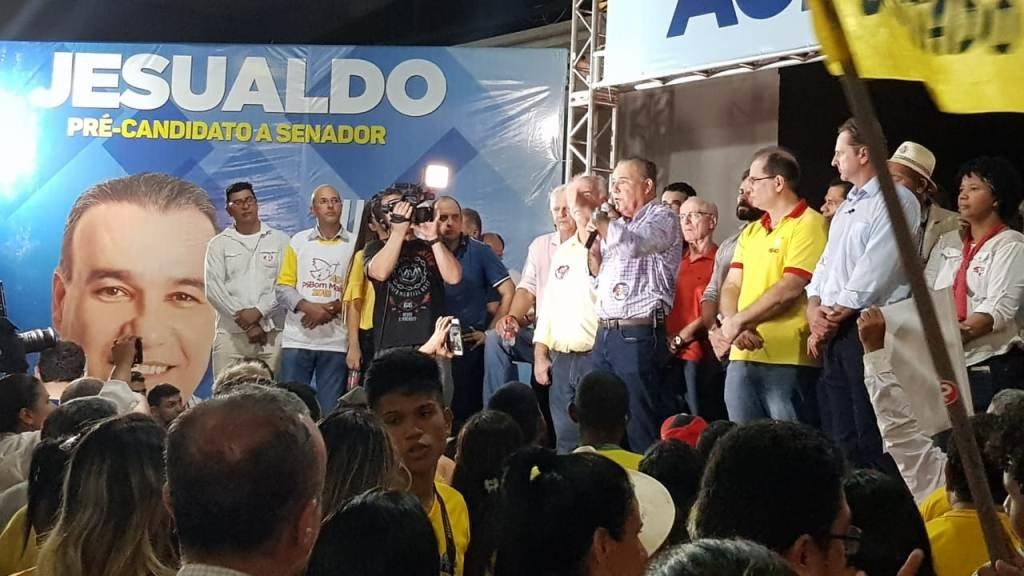 Jesualdo é aclamado em convenção e disputará vaga ao senado - Gente de Opinião