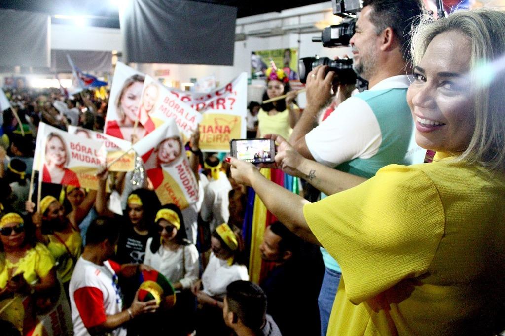 Candidatura Luciana é confirmada na convenção do PSB - Gente de Opinião
