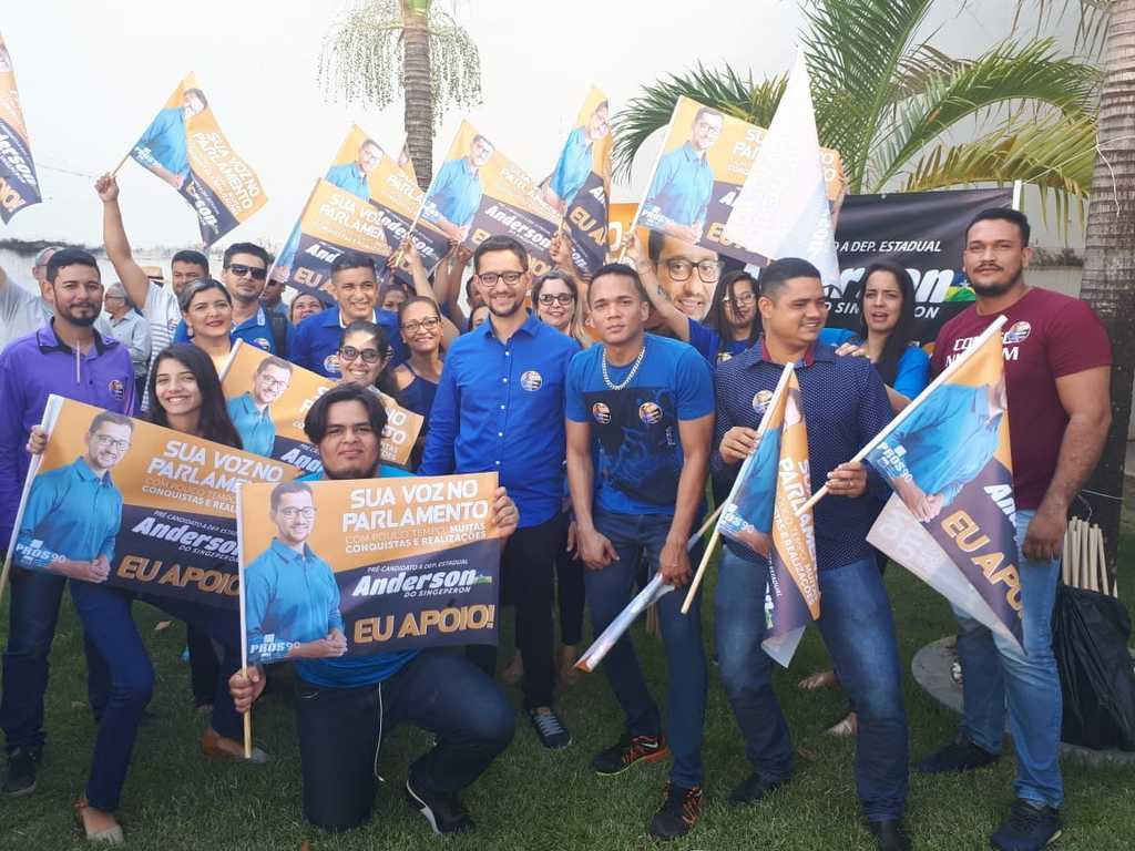PROS confirma a candidatura do deputado Anderson do Singeperon para reeleição na ALE-RO - Gente de Opinião