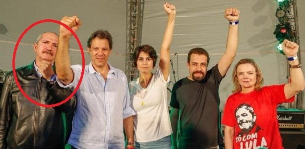 Rebelo, Haddad, Manuela, Boulos e Gleice (Foto Roberto Stuckert – 010052018) - Gente de Opinião