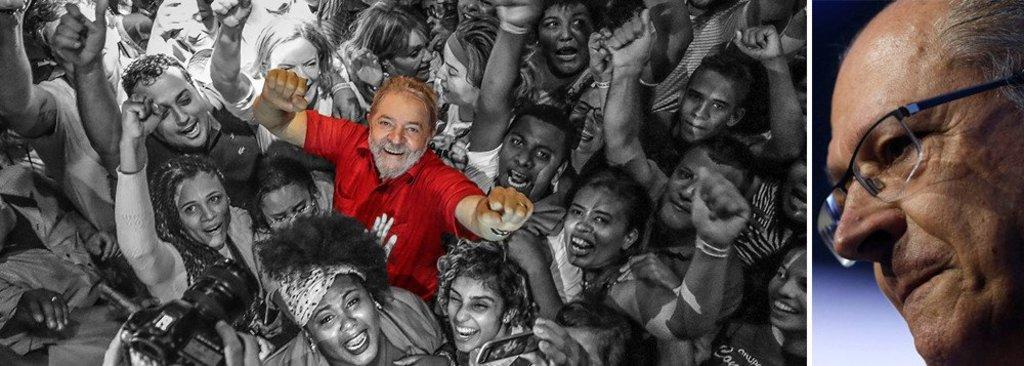 CNT/MDA: Lula também lidera em São Paulo e Alckmin patina - Gente de Opinião