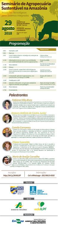 Seminário Agropecuária Sustentável na Amazônia acontece dia 29/8 em Porto Velho - Gente de Opinião