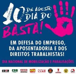 Rondônia participará da mobilização nacional por empregos, fim das privatizações, dignidade e cidadania  - Gente de Opinião