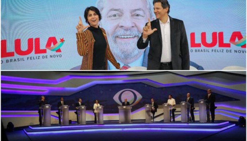 Preso em Curitiba, Lula venceu os dois debates da noite - Gente de Opinião