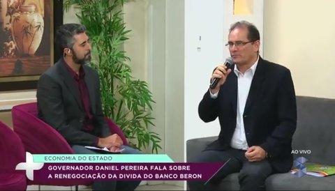 Daniel Pereira fala do caso Beron no programa Câmera + (VÍDEO)