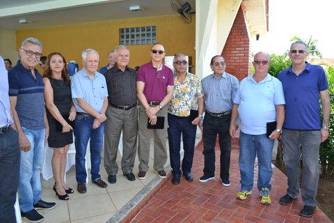 Sócios-Fundadores da Ameron são homenageados na festa de aniversário dos 35 anos