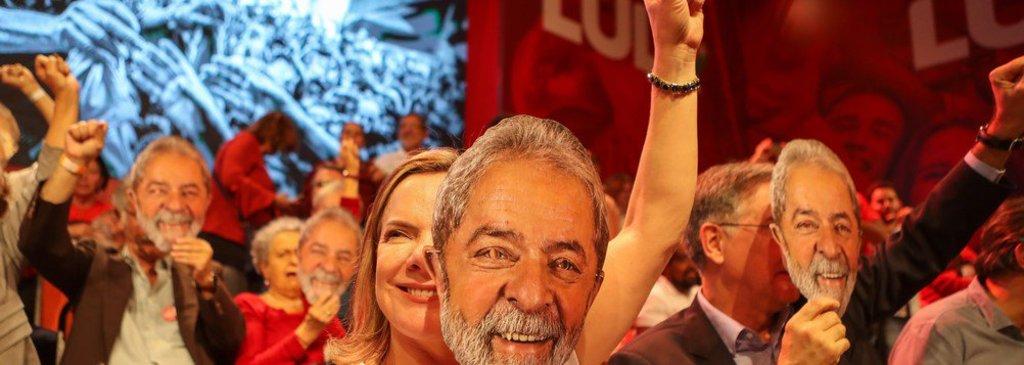 Gleisi: Lula estará na urna em 7 de outubro - Gente de Opinião