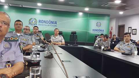 Ferramenta de Análise Criminal Integrada é apresentada para oficiais da PMRO na capital