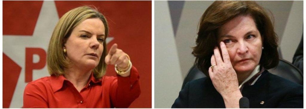 Gleisi Hoffmann protocola hoje convocação de Raquel Dodge  - Gente de Opinião