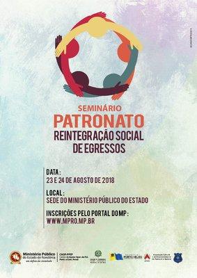Seminário vai discutir implantação do Patronato Penitenciário em Porto Velho