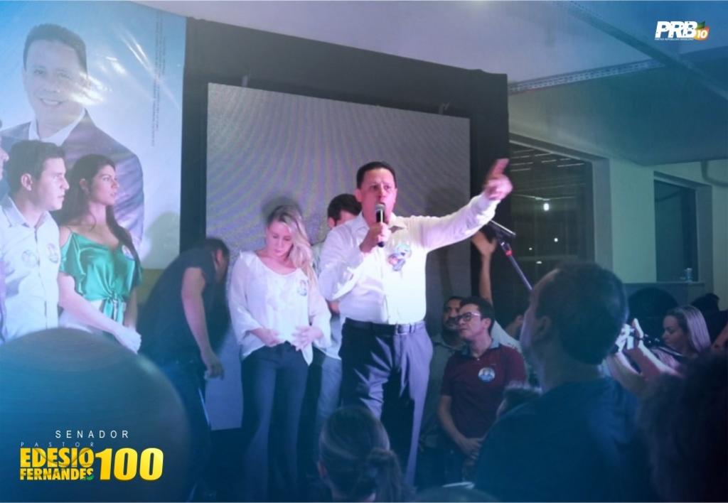 Edesio Fernandes ganha força na disputa ao senado com apoio de Expedito e prefeito Hildon - Gente de Opinião