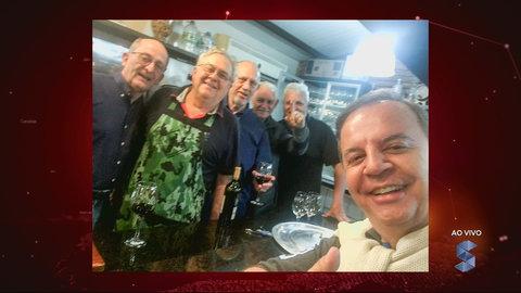 Everton Leoni visita amigos em Novo Hamburgo (VÍDEO)