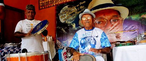 Festa pelos oitenta anos  de Bainha o rei do samba - Por Zekatraca