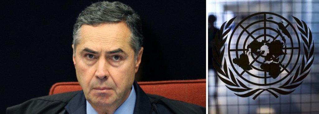 Em artigo, Barroso defendeu que decisão da ONU está acima da lei brasileira  - Gente de Opinião