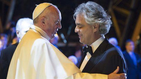 Andrea Bocelli: uma alegria cantar em Dublin para o Papa e as famílias