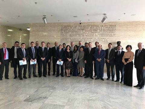 Procurador-Geral de Justiça do MPRO participa de reunião com a presidente do STF sobre Cadastro nacional de Presos