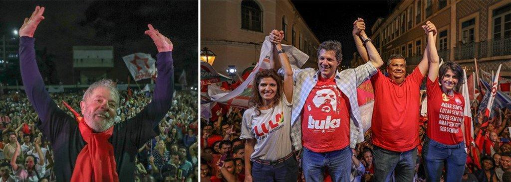 Lula já transfere 70% dos votos para Haddad - Gente de Opinião