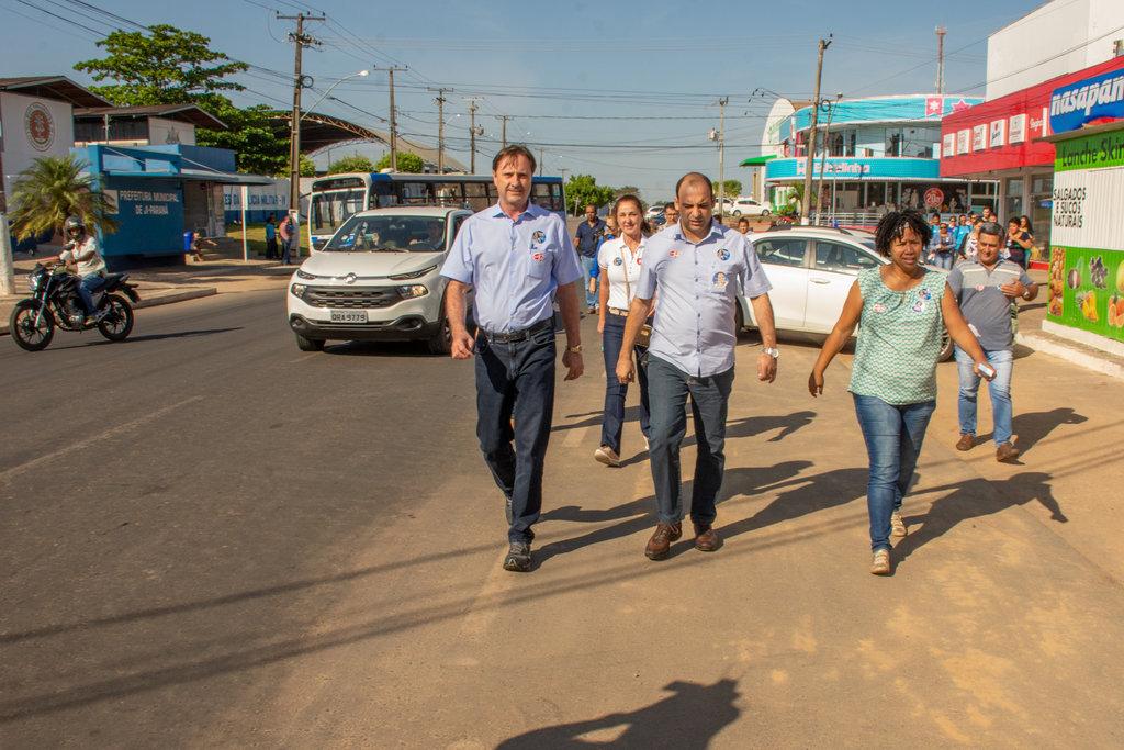 Acir faz caminhada em Ji-Paraná e relembra legados de sua gestão - Gente de Opinião