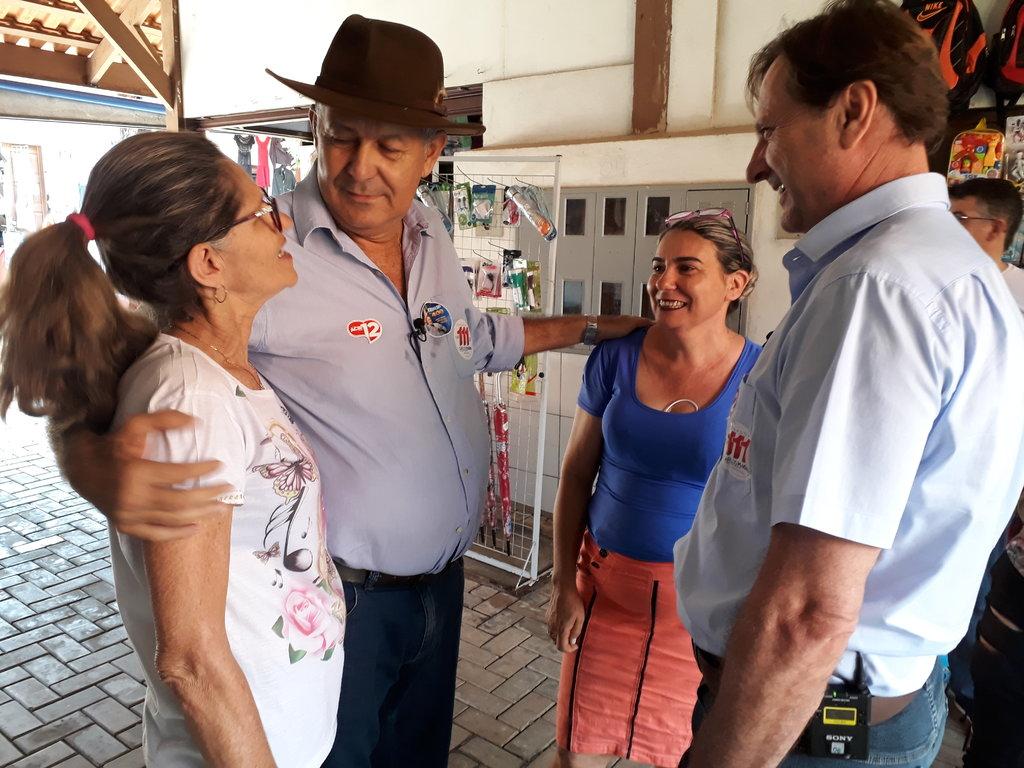 Candidato ao senado, Carlos Magno intensifica campanha na Região Central do Estado - Gente de Opinião