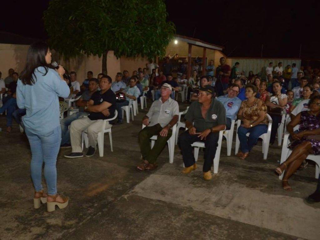 Mariana Carvalho participa de reuniões em Porto Velho e no interior - Gente de Opinião