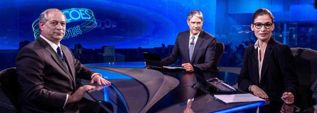 Bonner é detonado nas redes por postura 'arrogante' contra Ciro - Gente de Opinião