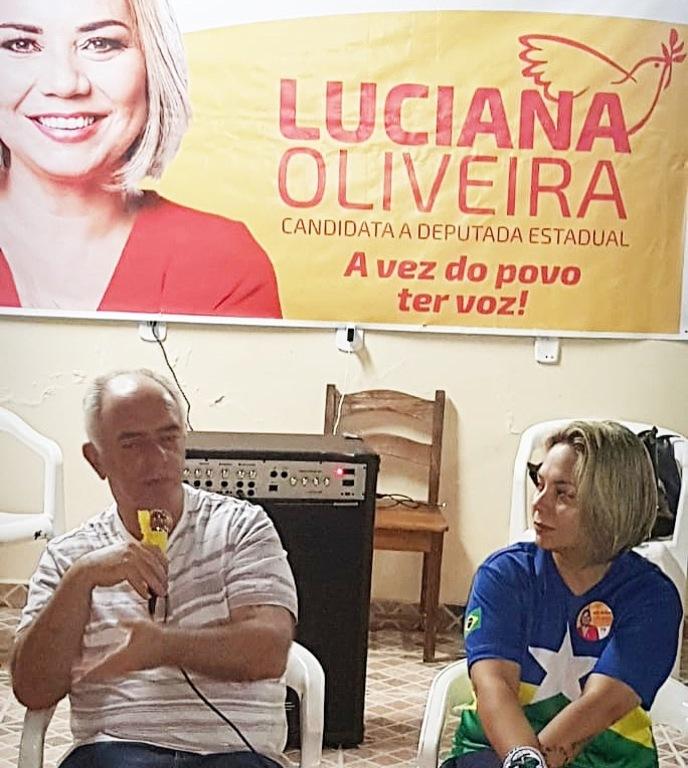LUCIANA OLIVEIRA SE COMPROMETE EM LUTAR POR 30 HORAS DOS ASSISTENTES SOCIAIS - Gente de Opinião