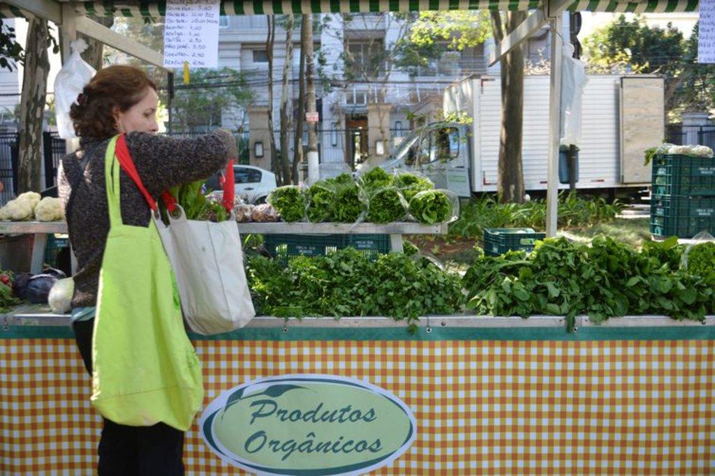 Feira de orgânicos na zona sul de São Paulo - Rovena Rosa/Agência Brasil - Gente de Opinião