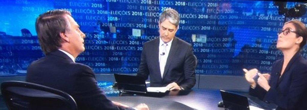 """Bolsonaro cita """"pejotização"""" dos jornalistas da Globo e Bonner muda de assunto  - Gente de Opinião"""