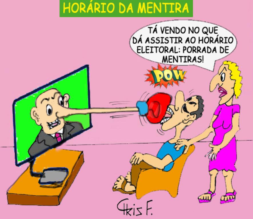 HORÁRIO DA MENTIRA - Gente de Opinião