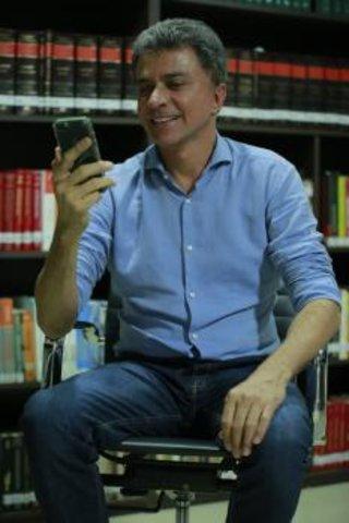 Expedito Junior lança aplicativo de engajamento e interatividade com eleitores - Gente de Opinião