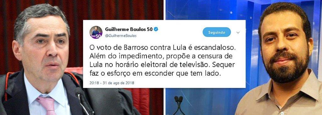 Boulos: História lembrará de Barroso, que aumentou salários de juízes e negou a ONU  - Gente de Opinião