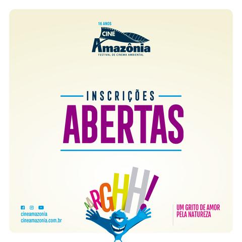 Inscrições abertas até dia 28 de setembro - Mostra Competitiva do Cineamazônia - Gente de Opinião
