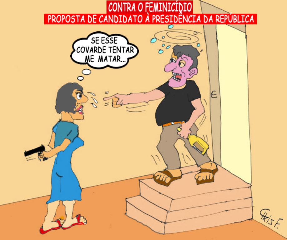 CONTRA O FEMINICÍDIO - Gente de Opinião