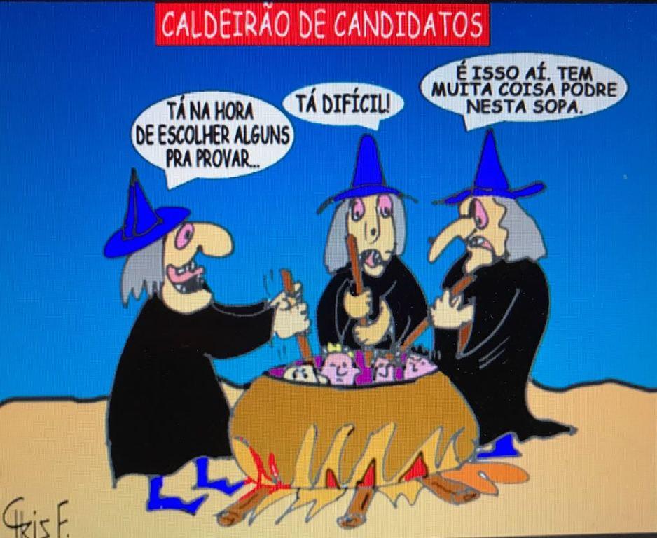 CALDEIRÃO DE CANDIDATOS - Gente de Opinião
