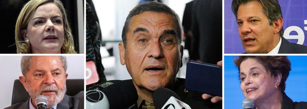 Em nota, PT repudia tutela dos militares sobre a democracia  - Gente de Opinião