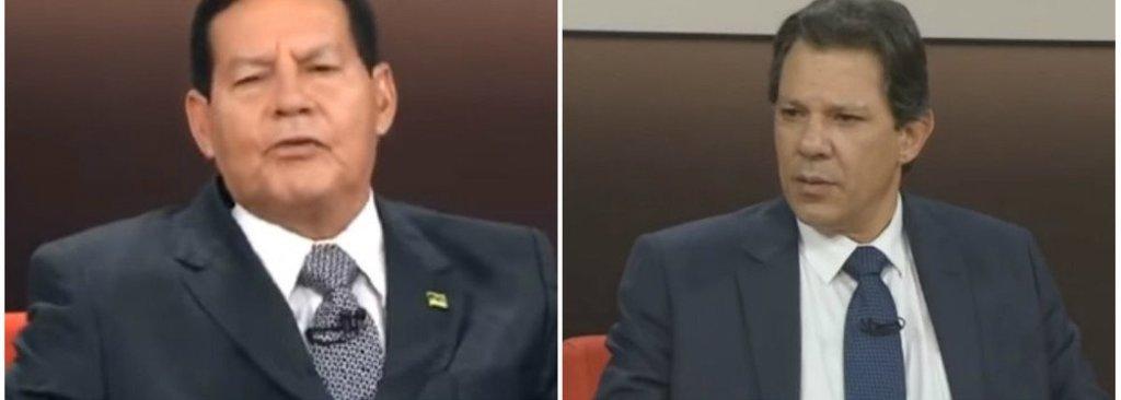 GloboNews: valentes com Haddad; miudinhos com o general - Gente de Opinião