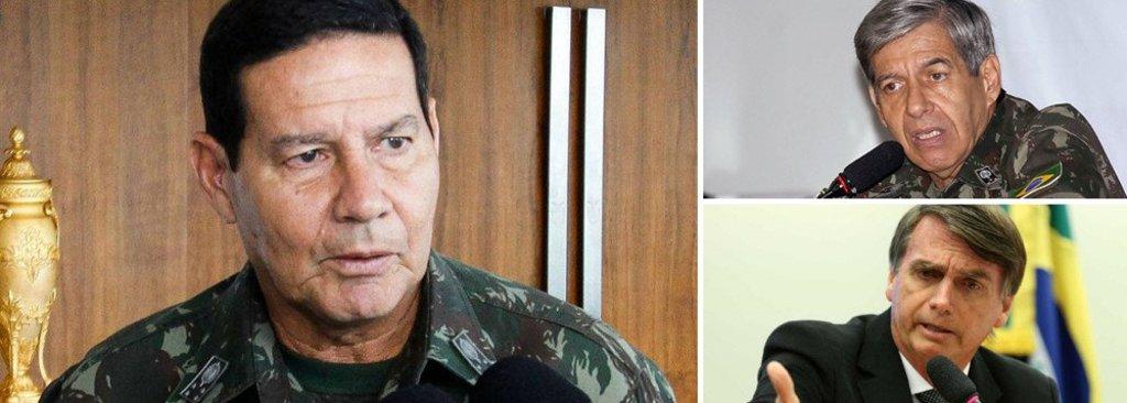 Mourão será protagonista na campanha de Bolsonaro  - Gente de Opinião