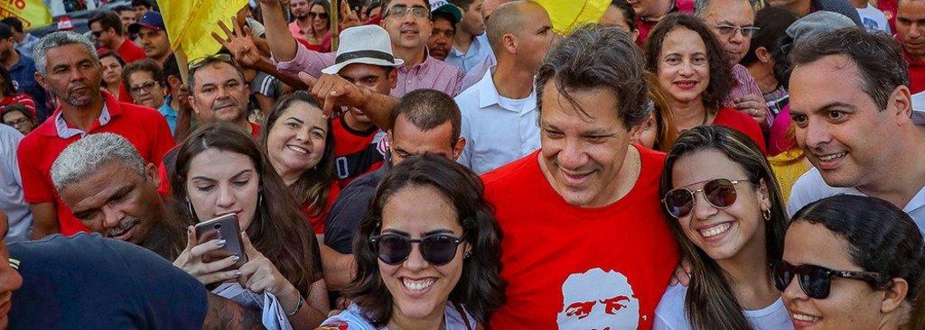 No Nordeste, Haddad passa de 5% para 13%  - Gente de Opinião